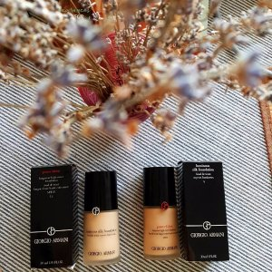 15% Off With Any Foundation Purchase @ Giorgio Armani Beauty