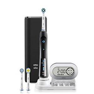 $141.55(原价$329.99) 包邮手慢无:Oral-B 7000 蓝牙智能电动牙刷 带3个刷头