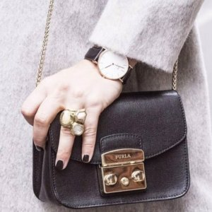 $208.6Furla Metropolis Cross-Body Bag 迷你方块包