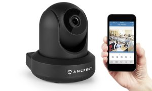 $47.99Amcrest HD 720P 无线Wi-Fi摄像头 三色可选