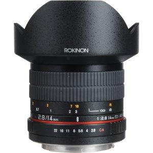 $259起Rokinon 14mm f/2.8 IF ED UMC 镜头