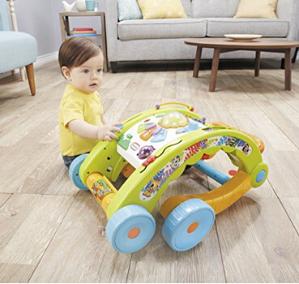 $18.07史低价:Little Tikes 3合1 学步车、婴儿推车