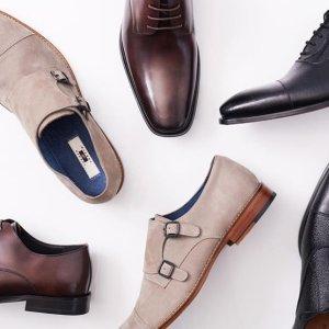 额外7折 低至$27.99CK Kenneth Cole Rockport 男士商务皮鞋超低价特卖
