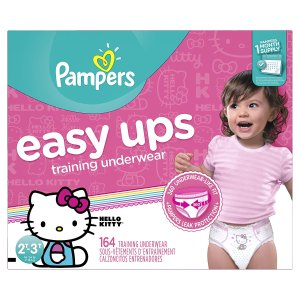 Extra $2-$3 Off + Free WipesPampers Easy Ups @ Amazon