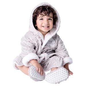 $9.97 Free ShippingToddler Plush Robe and Slipper Set