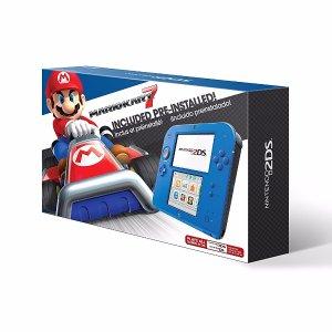 预装《马里奥赛车7》近期新低!Nintendo 任天堂2DS掌上游戏机特价 $89.99