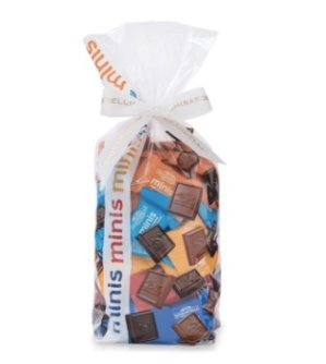 Buy One Get The 2nd 50% Offwith Assorted Minis Gift Bags (100 PC) Purchase @ Ghirardelli