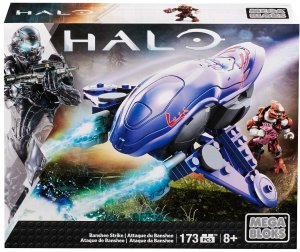 $4.99Mega Bloks Halo Banshee Strike 光晕战机拼装玩具