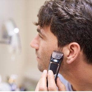 $19.96(原价$29.99)史低价:Philips Multigroom 3000系列 电动剃须/ 理发/ 造型修剪器 13件套,