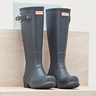 35% offSelected Hunter Boots @ AllSole