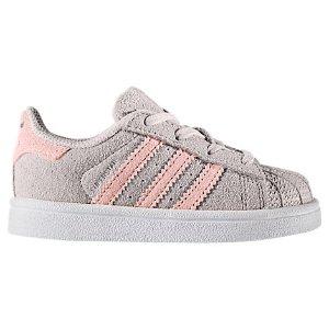 $18.74Adidas Superstar 女小童经典运动鞋