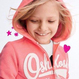 低至$6.95OshKosh B'Gosh 儿童摇粒绒外套、运动长裤Doorbuster特卖