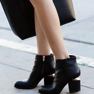 直减$125Alexander Wang女士鞋履热卖 入经典断根靴