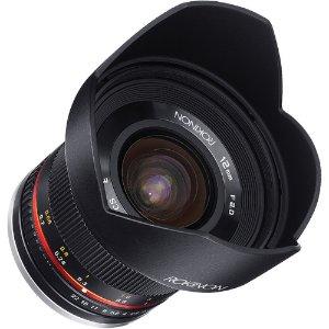 $259 (原价$399)Rokinon 12mm f/2.0 NCS CS 手动镜头