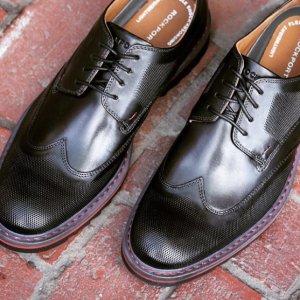 2双$89Rockport 乐步男士皮鞋 休闲鞋限时超值特卖