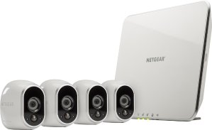 $299Arlo Smart Home HD Wireless IP Security Camera 4-pack