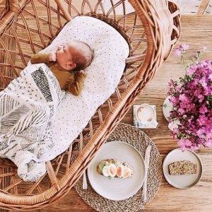 8.5折,周末特惠!ADEN+ANAIS 英国皇室御用婴儿宝宝包巾