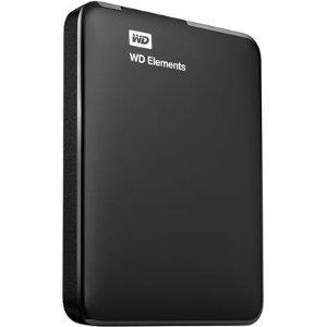 $119限时特惠:WD 西部数据移动硬盘 3TB