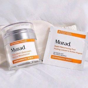 全场8折+免邮Murad Skin Care美容护肤品享优惠