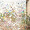 $5 Rabbitgoo 3D No Glue Static Decorative Films Glass Window Film Anti UV 17.7