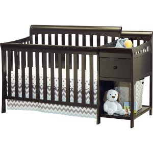 $129Sorelle Florence 4-in-1 Convertible Crib and Changer