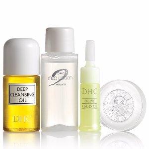 免费 (价值$16.50) + 4个小样双11独家:DHC Skincare官网 深层卸妆油套装热卖