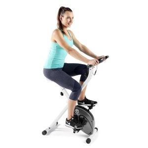 $134.99 (原价$263)Impex Marcy 可折叠磁阻健身自行车5.1折