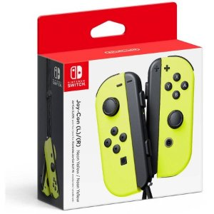 $61Nintendo Switch Joy-Con Controllers Yellow