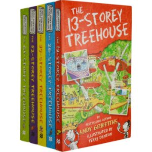 AU $8(AU$14.99)Storey Treehouse 疯狂树屋系列原版图书特卖