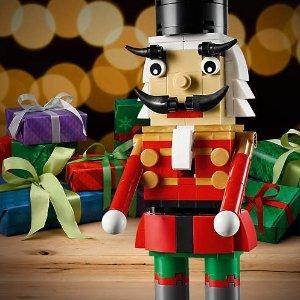 已开始 满额送封面胡桃夹子 包邮LEGO®官网 黑色星期五购物享好礼,超多套装上新