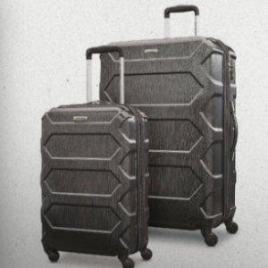 $159.07(原价$599)逆天价:比黑五还便宜!Samsonite Magnitude行李箱两件套(多款)