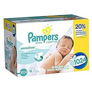 CDN$16Pampers 婴儿湿巾(两款可选)
