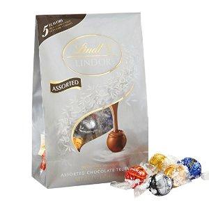 $8.88Lindt LINDOR 瑞士莲什锦松露巧克力 15.2oz 36颗
