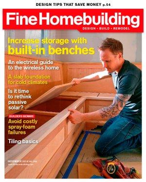 $9Fine Homebuilding Magazine Subscription
