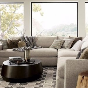 15% OffThe Annual Upholstery Sale @ Crate & Barrel