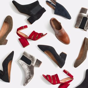 Up to 30% OffSelect Shoes & Boots @ Madewell