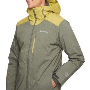 低至5折Columbia 男士 滑雪服 夹克 等多款冬季外套 清仓热卖