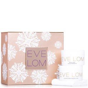 $81.6 ( 价值£110.00 )EVE LOM 圣诞限量 卸妆膏+急救面膜套装