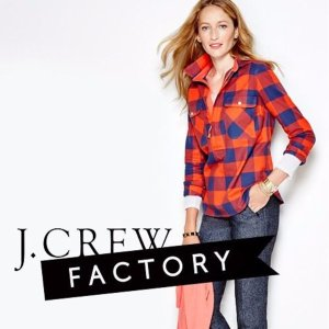 Extra 30% Off+Free Shippingon Everything @ J.Crew Factory
