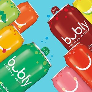 $8.8bubly 8口味气泡水混合装 12罐