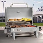 Smoke Hollow 205 Stainless Steel TableTop Propane Gas Grill @ Amazon