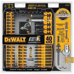 $19.99DEWALT DWA2T40IR电钻钻头附件套装 40件套