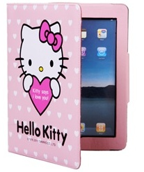 $14.99Durable PU Leather Kitty Design Folding iPad 2 Case